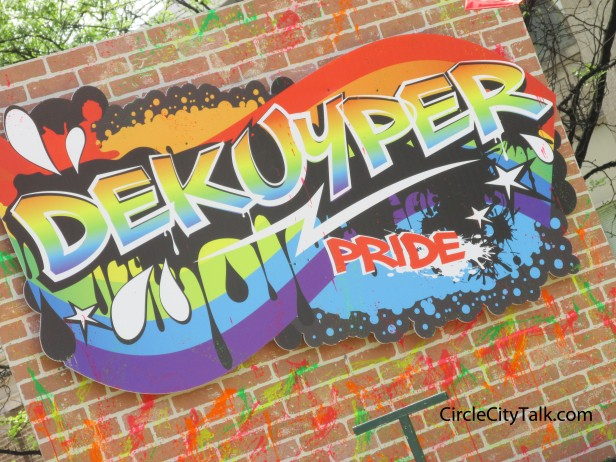 Dekuyper was one of the major sponsors at this years festival, and they also had one of the best floats.